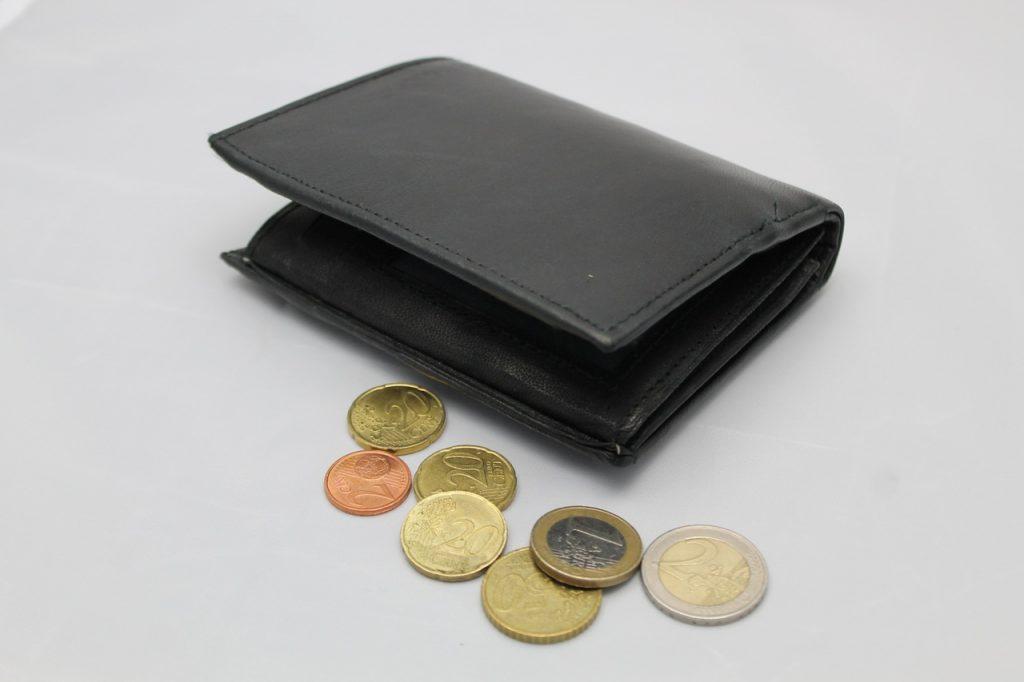 Skórzany, Europa, metal, pieniądze, styl życia, portfel, gotówka, waluta, euro, moneta, zapisać, Monety, podatki, cent, pieniądze metalowe, gotówka i odpowiedniki gotówki, finanse, loose Change, ekonomiczny, zapłacić, bilon, obliczać, portmonetka, kłopot , wzięty